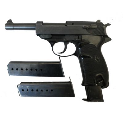 9 Walther P38 pistol. Used