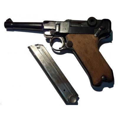 9 Luger P-08 pistol. Used