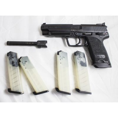 40 SW pistol + 40SW barrel. Used