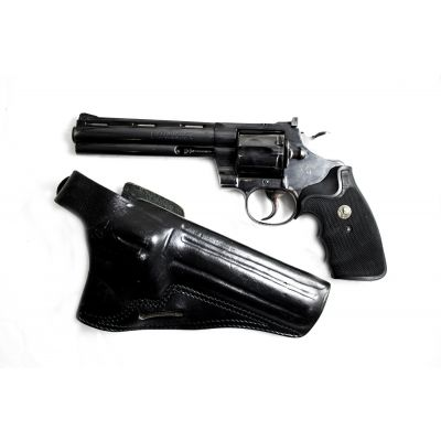 "Revolver 357 Colt Pithon 6 "". Used"