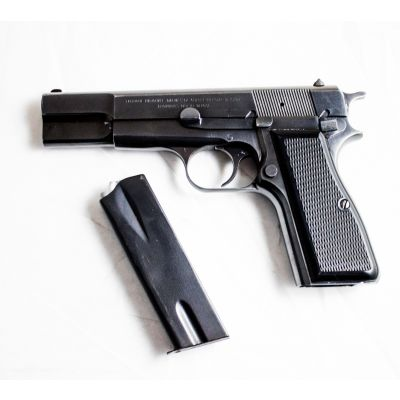 9 Browning pistol. Used