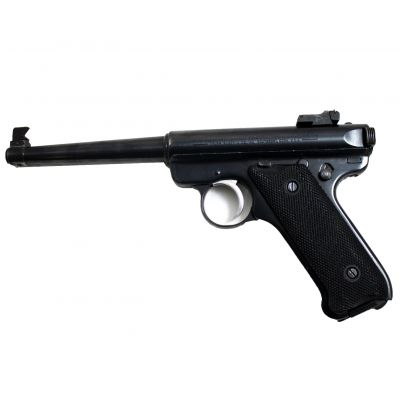 22 Ruger MKII pistol. Used