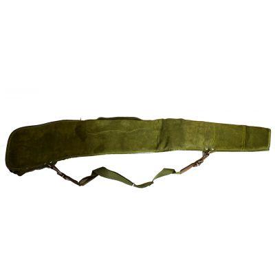 Funda rifle 100 cm verde c/correa ajustable.Ocasion