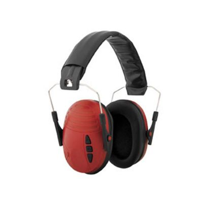 Red folding ear Ear protection SPORT JAGD