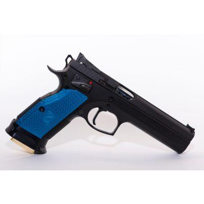Cacha gruesa CZ azul M-Arms