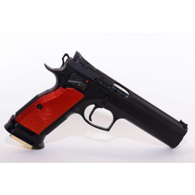 Cacha gruesa CZ roja M-Arms