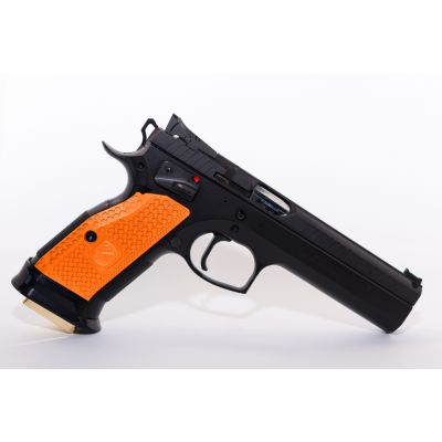 Cacha gruesa CZ naranja M-Arms