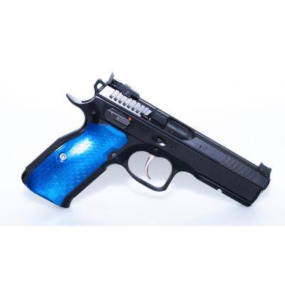 Cacha 3D president azul CZ  M-Arms