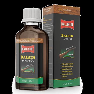 BALSIN dark brown wood protective oil 50ml BALLISTOL