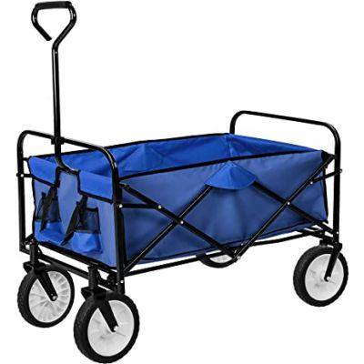 Cart folding and folding transport
