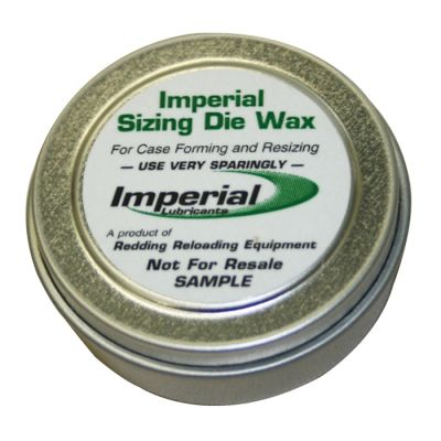 lubricate wax before neck case Imperial 2oz REDDING