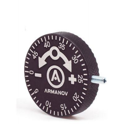Micrometric regulator powder measure Armanov powder
