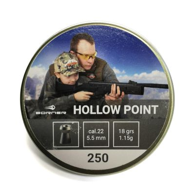 Balin 5,5 0.79gr Hollow Point Borner (250unid)