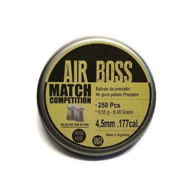 Balin 4.5 (4,49)  0.55gr Air Boss Match Competition (250unid)