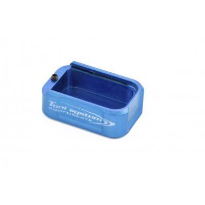 Base pad +2 aluminum Blue Tanfoglio Small Frame Tony System