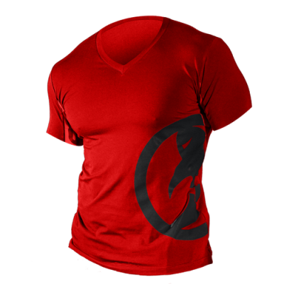 Ghost red short sleeve S T-shirt