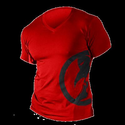 Camiseta L manga corta roja Ghost
