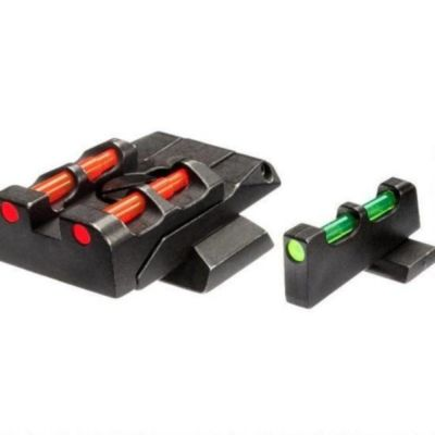 Rear Sight sight and point fiber Glock Litewave HIVIZ