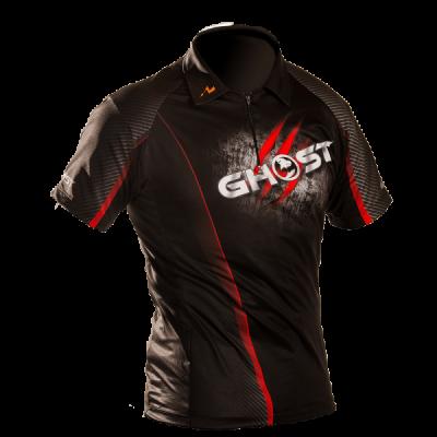 Camiseta negra Ghost (talla L)