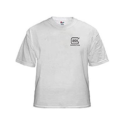 Glock white t-shirt m/short