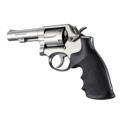 Grip revolver K / L dotted square rubber Hogue