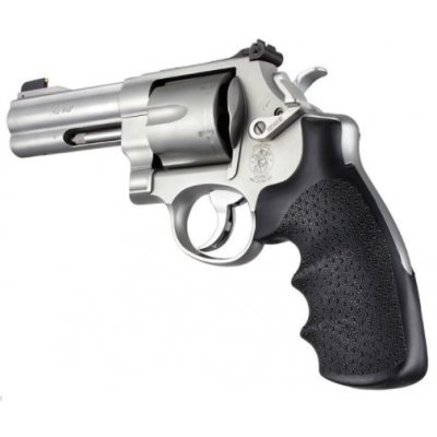 Grip rubber fingers marked SW revolver frame N round Hogue