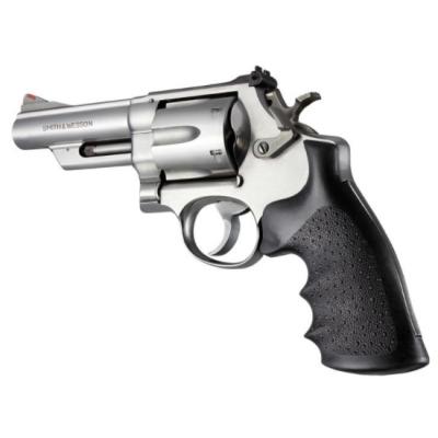 Grip nylon fingers revolver SW marked square frame N Hogue