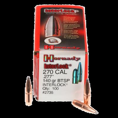 Bullet 270 140gr BTSP Hornady