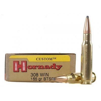 Cartridge 308 Win 165gr BTSP Custom Hornady