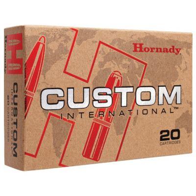 Cartucho 308 Win 180gr SP Custom Hornady