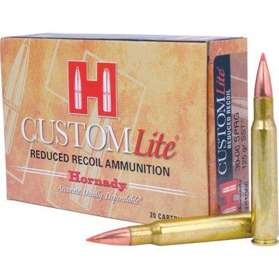 Cartridge 30-06 125gr SST Custom Lite Hornady