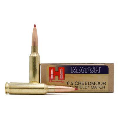 Cartridge 6,5 Creedmoor 147gr ELD Match Hornady