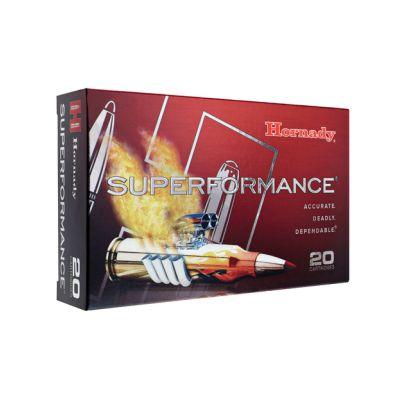 Cartucho 6,5x55 140 SST Superformance Hornady