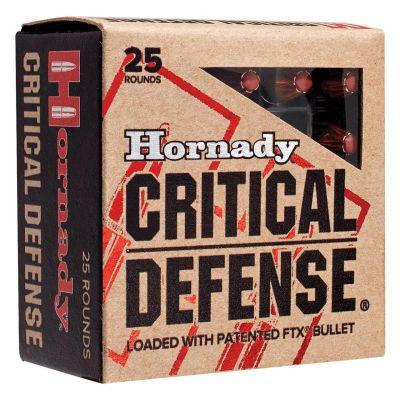 Cartridge 45 ACP 185gr FTX Hornady