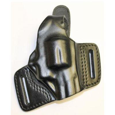 Funda bikini revolver 2,5 cuero negro zurdo