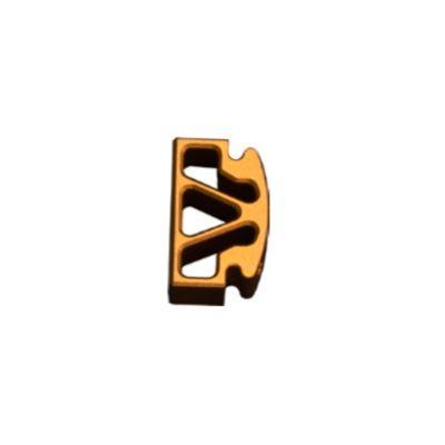 Pestaña recta dorada Bul 2