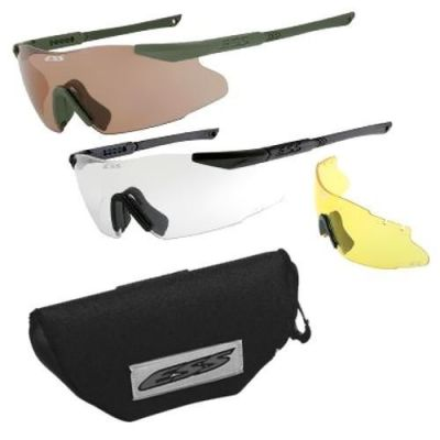 Gafas ICE 3 ESS lentes claras, ahumadas y ambar