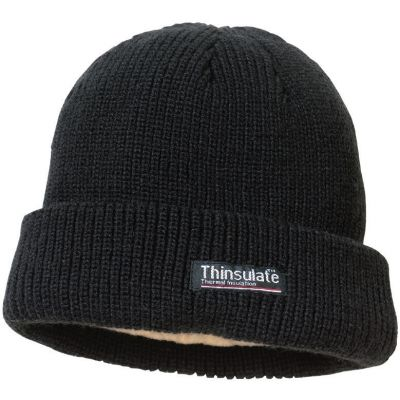 Black Thinsulate hat