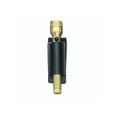 2AA flashlight leather holder