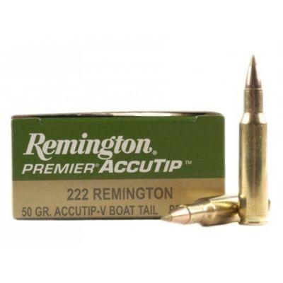Cartucho 222 50gr Remington Accutip