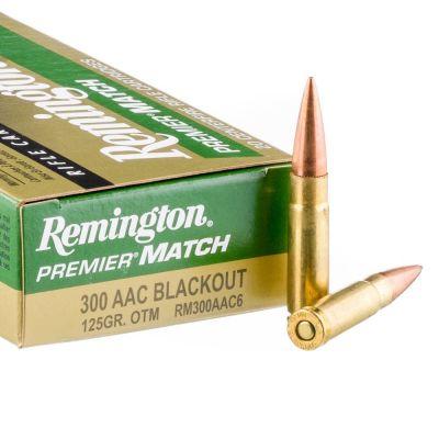 Cartucho 300 AAC Blackout 125gr Remington