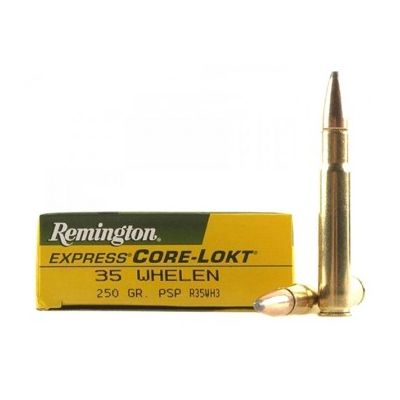 Cartridge 35 Whelen 250gr PSP Remington