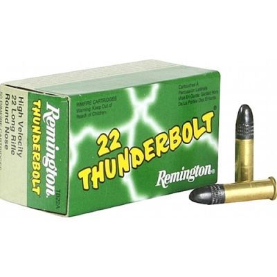 22 LR Thunderbolt cartridge