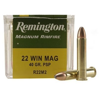 Cartucho 22 Mag PSP Remington
