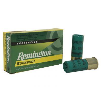 Cartucho 12 Buckshot Remington (9 bolas)
