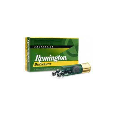 Cartucho 12 Buckshot Remington (27 bolas)
