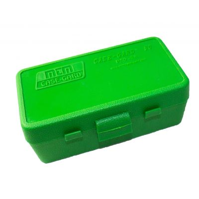 Lime green MTM box. 38/357 (50 Cart)