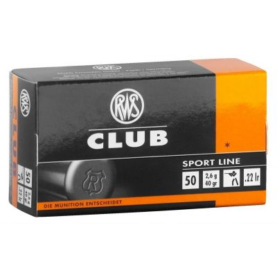 Cartucho 22 RWS Club Master