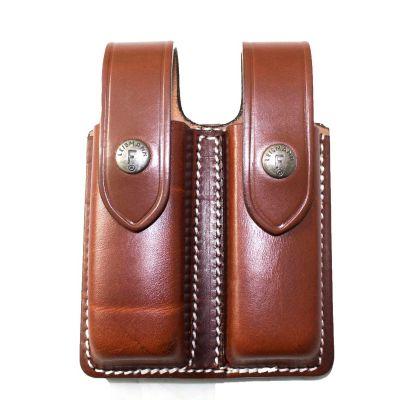 Magazine holder 1911 brown leather ROAL