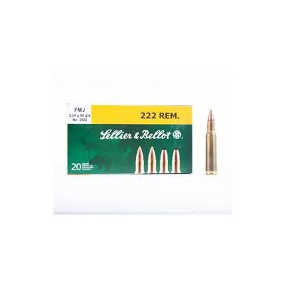 222 SP S&B Cartridge